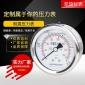 厂家直销 耐震压力表YN60Z 轴向不带边 规格齐全 可定制